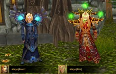New Frost Mage and Fire Mage