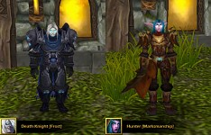 New Frost DK and New Class: Marksmanship Hunter