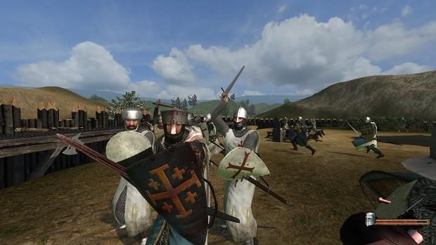 Assault on a Jerusalem & Templar controlled wooden keep