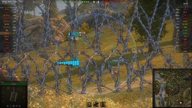 Deegie's Crosshair image - Benoz's XVM for WoT v9 8 1 mod