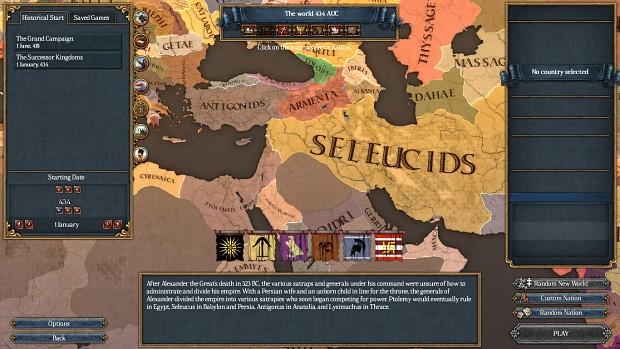 Roma Universalis vBeta 2: The Successors Preview
