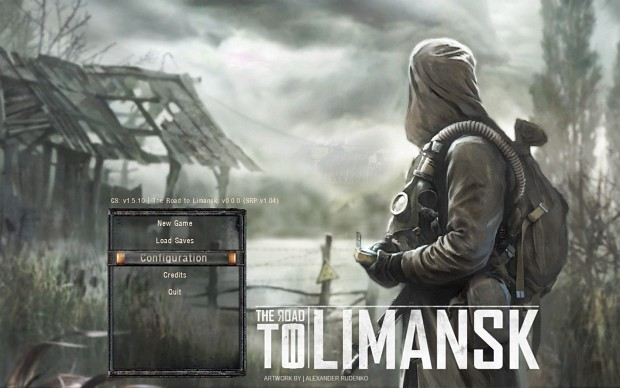 Road to Limansk mainmenu artwork