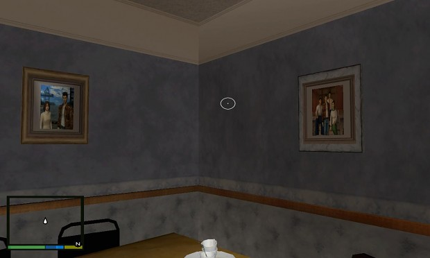 GTa Shenmue Photos on CJ's House