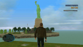 Statue of Liberty and NEW Water Texture..