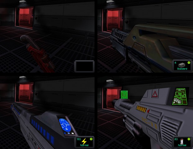 System Shock Infinite v2.4 new weapons
