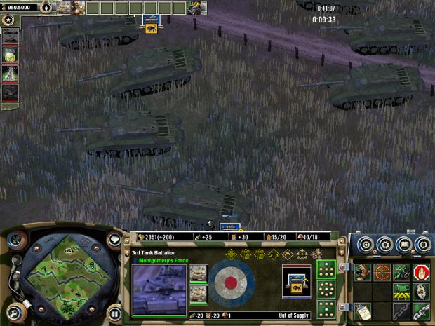 British Challenger II Tank Squadrons