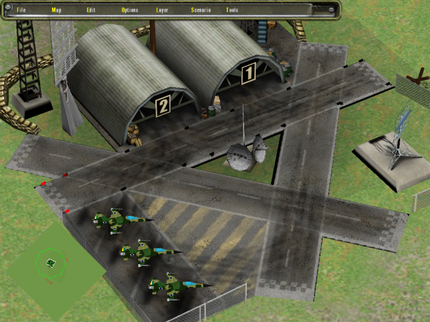 Brazillian Airbase, experimental airbase supply mechanic.
