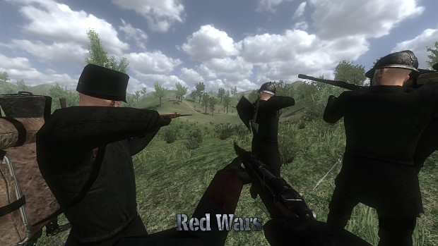 Red Wars 2 - Squad of Rhodok soldiers