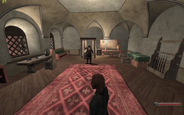 interior with new shaders image - The Red Wars mod for Mount & Blade: Warband - Mod DB