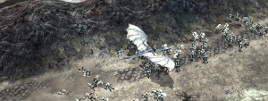 Sneak peak for the nazgul's swoop attack