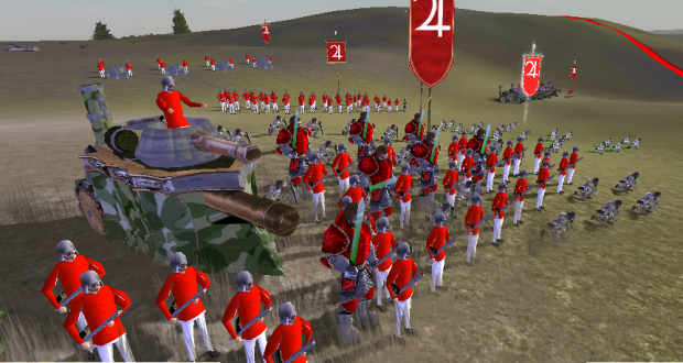 Colony troops