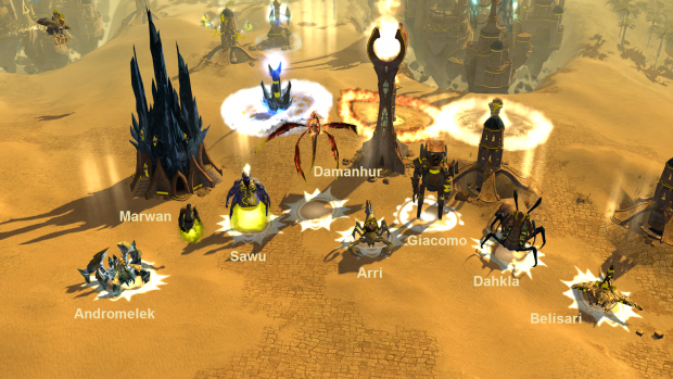 Motter's Heroes In Skirmish Mod - Screenshots