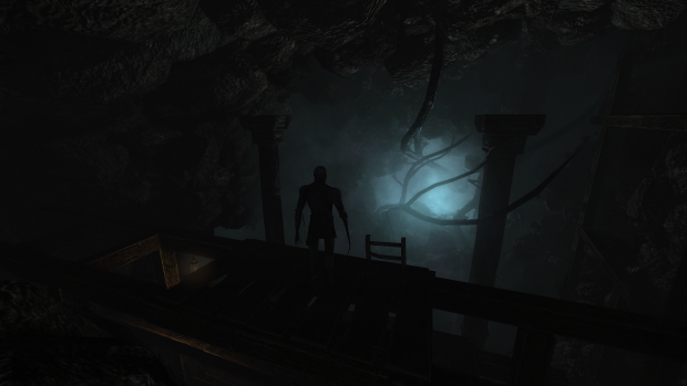 Silhouette Image In Lucy S Eyes Mod For Amnesia The