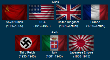 the axis powers of ww2 flags