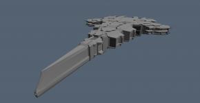 Dragon Dreadnought WIP2