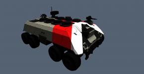 BlackBird HQ vehicle texture WIP