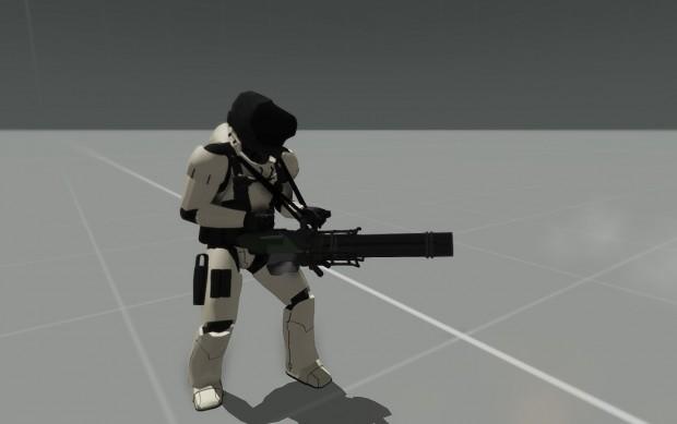 HMG-8ProgressSneakpeek image - Lost Dragons mod for ARMA 3
