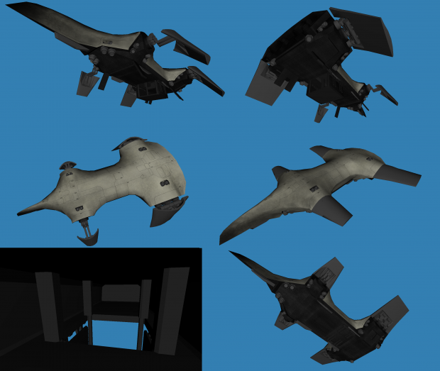 Dropship WIP update image - Lost Dragons mod for ARMA 3 - Mod DB