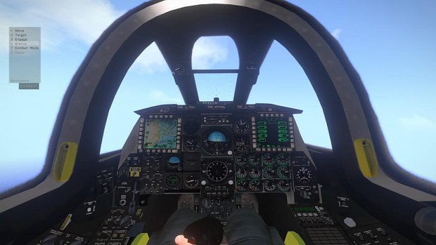 cockpit image - a-10c thunderbolt ii mod for arma 3