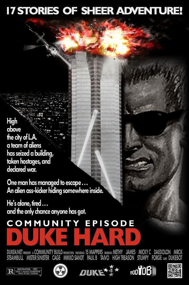 Duke Hard poster