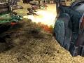 Flame tanks treads