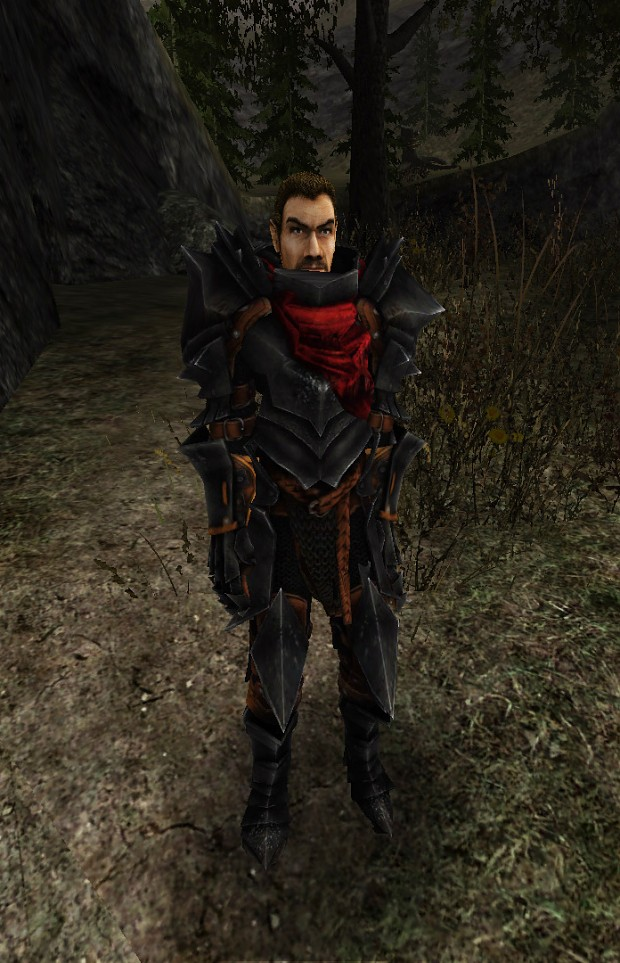 One unique armor image - Gothic 2 - Requiem mod for Gothic