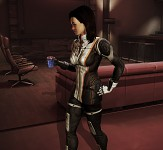 Early dev shot on Miranda in new uniform
