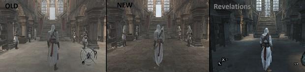 V3 - Masyaf castle lighting comparison