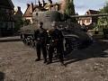 West German m4a3e8 Sherman