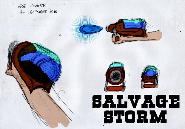 Boiling Water Cannon Concept