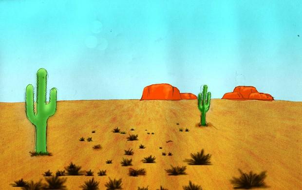 Concept Art: Desert