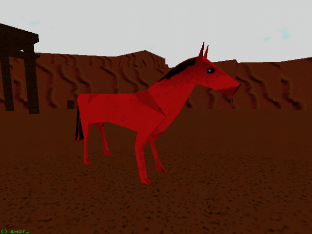 Textured Horse - Oct '14 Development Shots