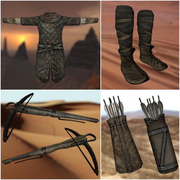 Desert Bandit Set by CWE mod
