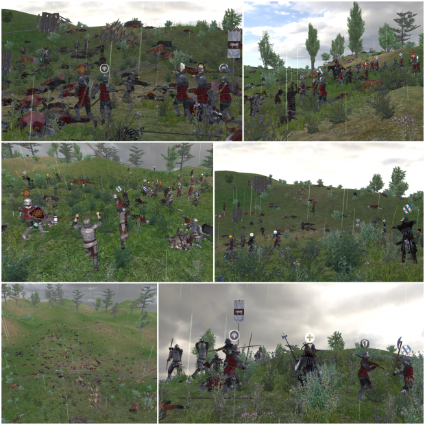 Strategus Field Battle - Hounds of Chulainn v. Occitan