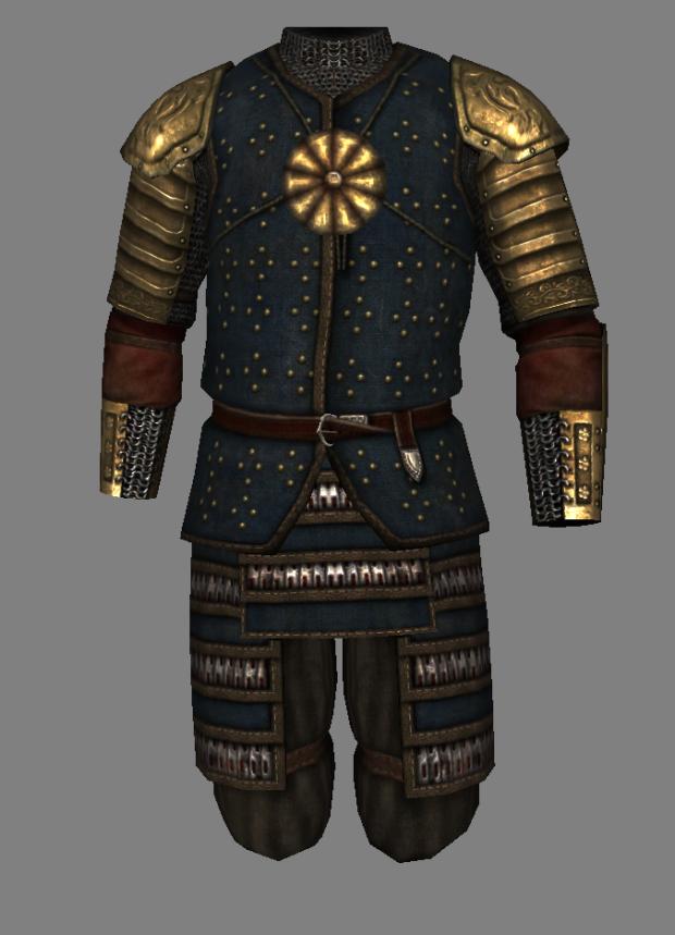 Mongolian Elite Infantryman Armor by Zimke
