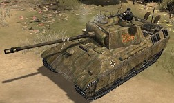 Panther Ausf.G Zimmerit and gun barrel texture V42