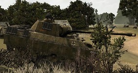 Panther Ausf.A Zimmerit and gun barrel texture V42