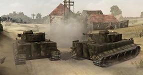 Tiger 222, 222, 223 Villers-Bocage in V34