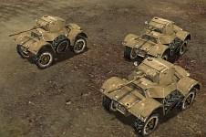 CW Daimler MK II Armoured car