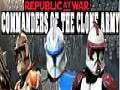 Republic at War: Commanders of the clone army (Star Wars: Republic Commando)