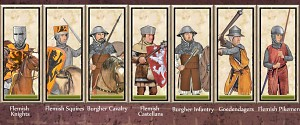 New Flemish Unit Cards