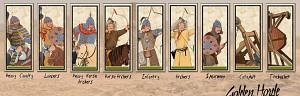 New Mongolian Unit Cards