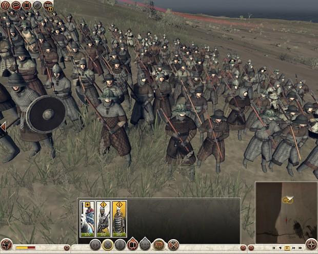 Heavy Infantry (Mercenary Unit) image - Medieval Kingdoms ...  Heavy Infantry ...