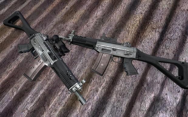 SIG-552 Commando