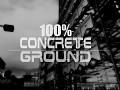 100% Concrete Ground