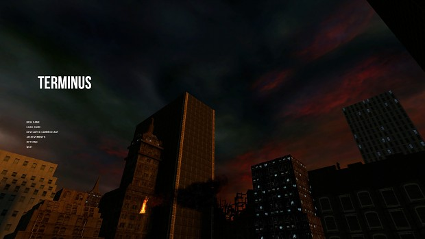 Early Main Menu BG