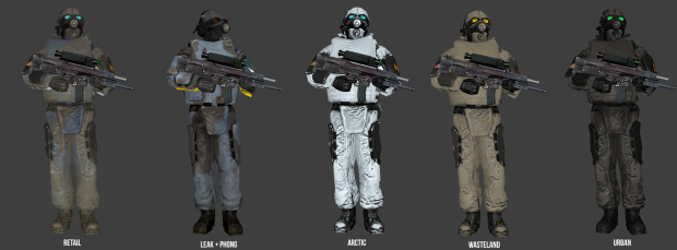 Early Combine Skins