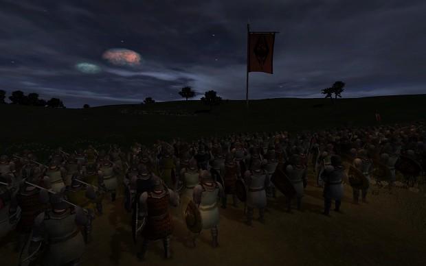 Masser and Secunda in night battles