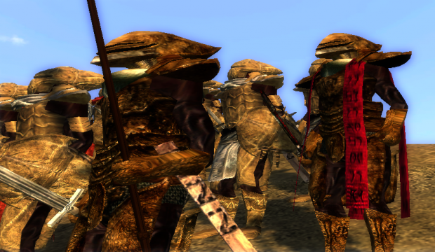 Redoran officer and captain