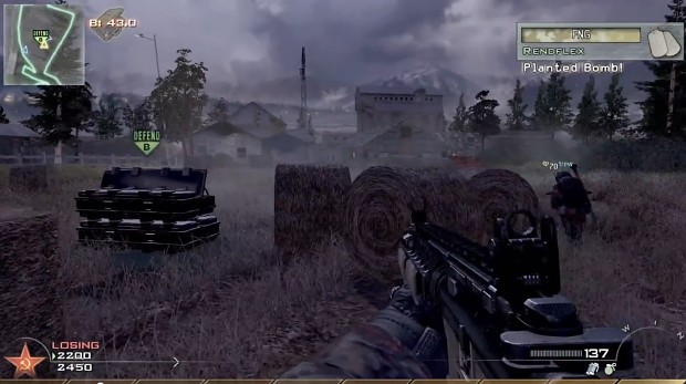 Screenshot from one of my rush videos